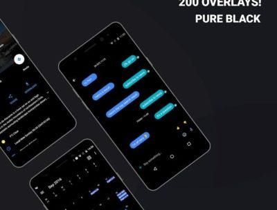 Swift Black Substratum Theme +Oreo & Samsung theme-1