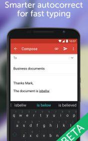 SwiftKey Beta Android