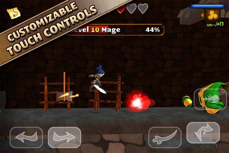 دانلود Swordigo 1.4.1 - بازی اکشن فوق العاده اسوردیگو اندروید + مود