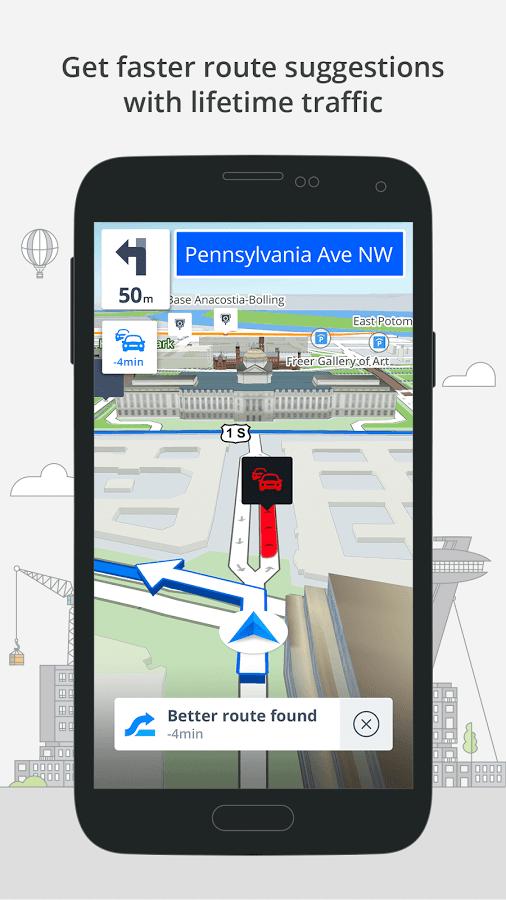 دانلود GPS Navigation & Maps Sygic Full 17.4.15 - مسیریاب