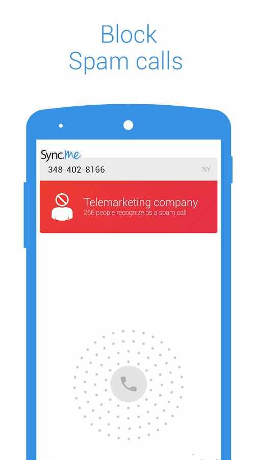 دانلود Sync.ME - Caller ID & Block 4.12.2 - شناسایی و مسدود سازی تماس اندروید !