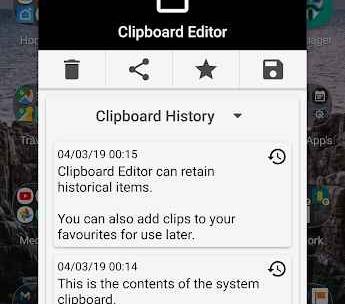System Clipboard Editor