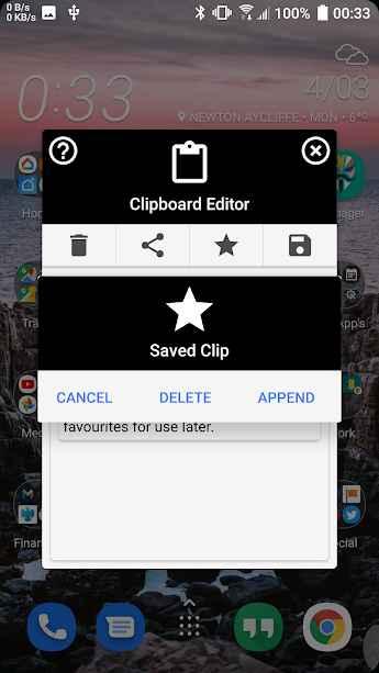 دانلود System Clipboard Editor 4.2 - برنامه مدیریت حرفه ای و هوشمندانه کلیپ بورد اندروید