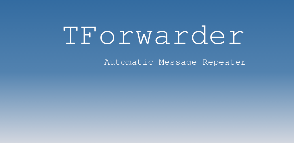 TForwarder - auto message forwarding for telegram Premium
