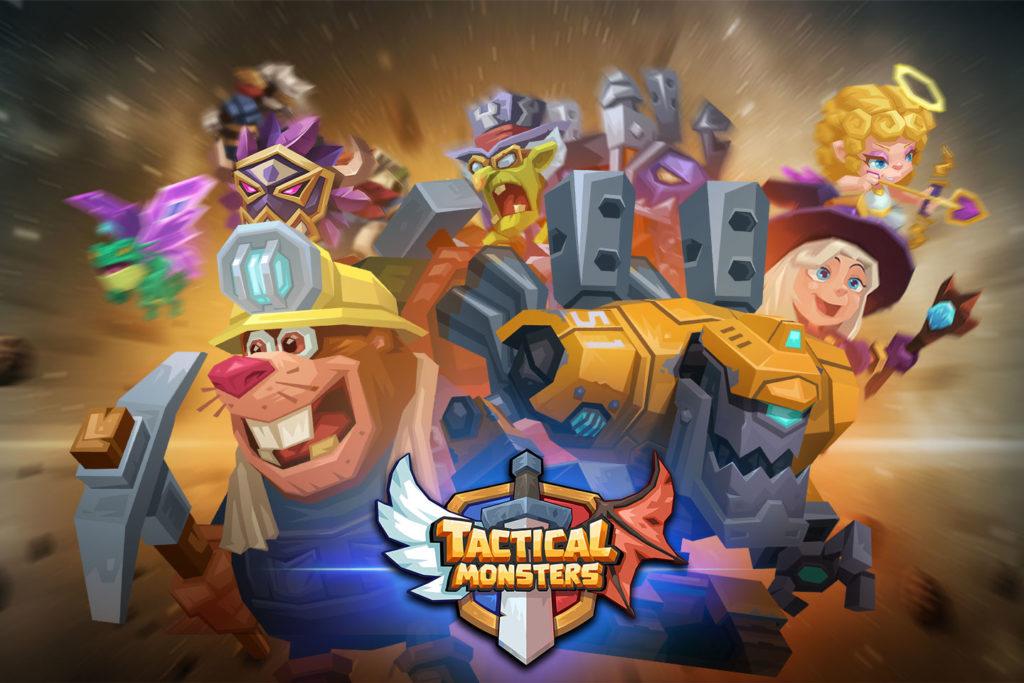 دانلود Tactical Monsters Rumble Arena -Tactics & Strategy 1.14.2 - بازی استراتژی پرطرفدار نبرد هیولا ها اندروید + مود