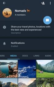 Telegram X 1 175x280 دانلود Telegram X 0.20.4.749 – تلگرام اکس، بهترین و همچنین کامل ترین تلگرام آندروید !