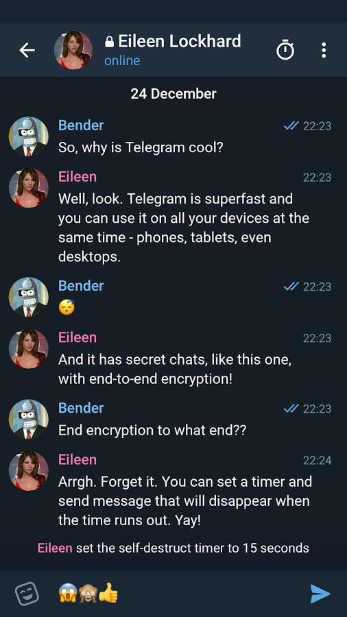 دانلود Telegram X 0.21.1.1012 - تلگرام اکس، بهترین و کامل ترین تلگرام اندروید !