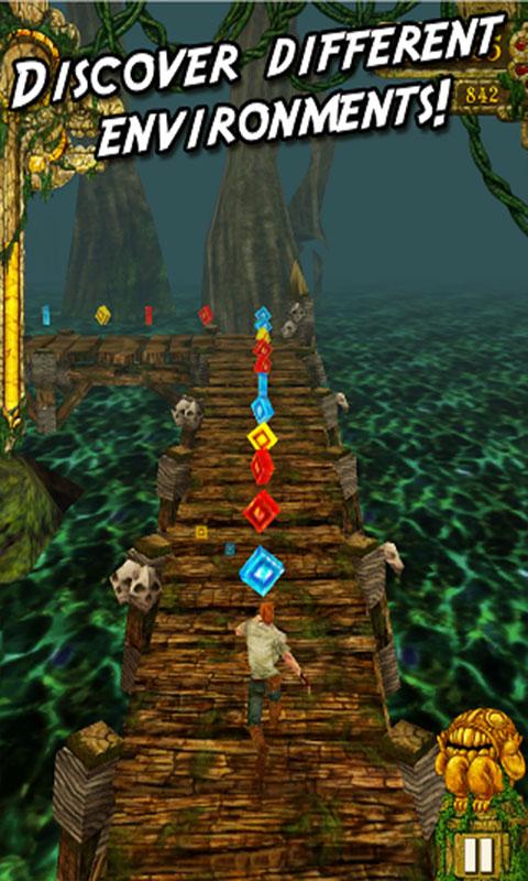 دانلود Temple Run 1.9.5 - بازی پرمخاطب فرار از معبد اندروید + مود