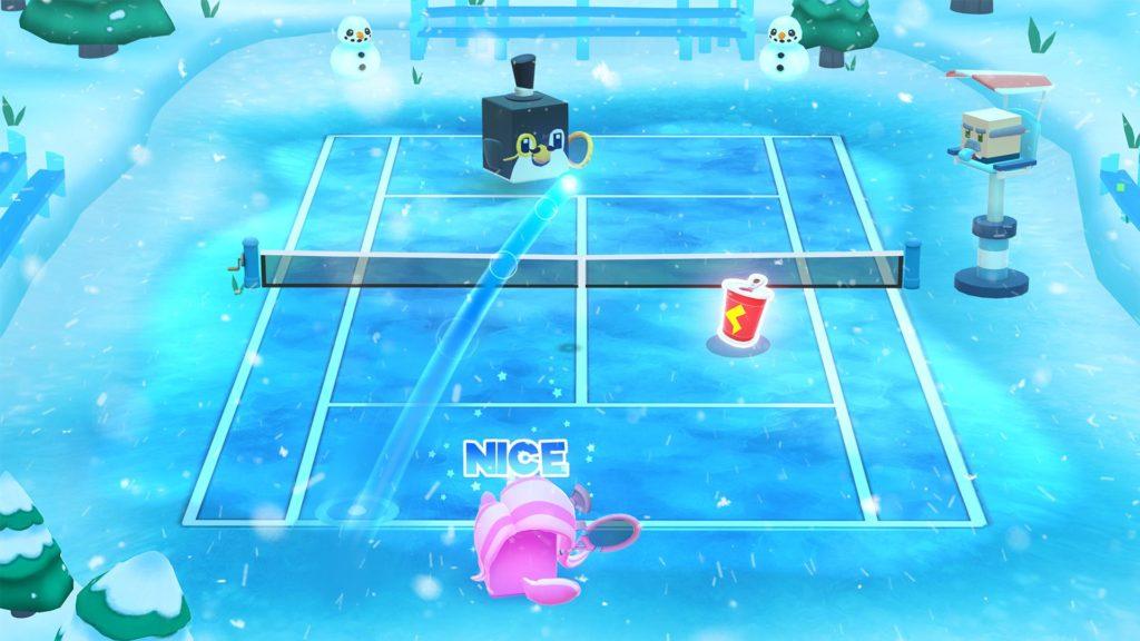 دانلود Tennis Bits 1 - بازی تنیس سه بعدی و فوق العاده زیبا اندروید + مود