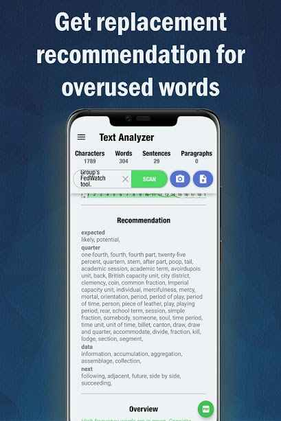 دانلود Text Analyzer Pro 7.0.3 - برنامه آنالیز حرفه ای متن مخصوص اندروید
