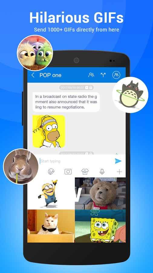 دانلود TextU Pro - Private SMS Messenger 3.6.8 - پیام رسان همه جانبه و امن اندروید !