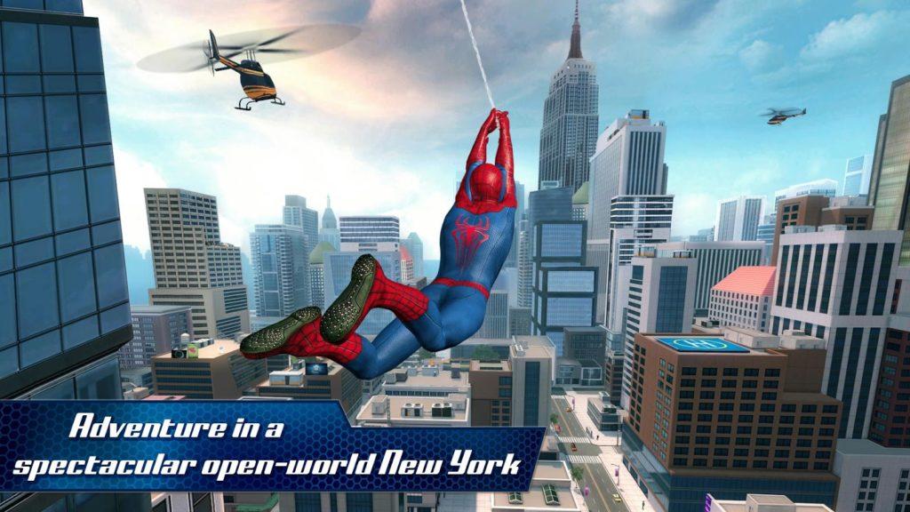 دانلود The Amazing Spider-Man 2 1.2.6d - بازی مرد عنکبوتی 2 اندروید + دیتا