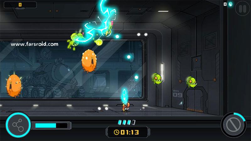 دانلود The Bug Butcher 1.0.7 - بازی ماجراجویی 2D عالی اندروید + مود + دیتا