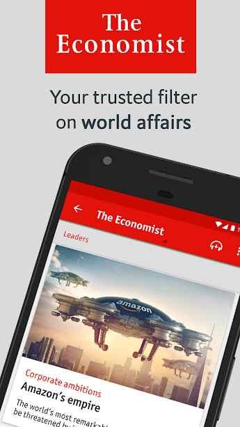دانلود The Economist: World News Full 2.7.0 - برنامه هفته نامه خبری و بین المللی اکونومیست اندروید