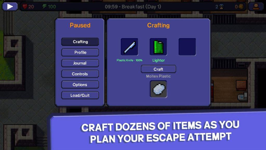 دانلود The Escapists 1.1.5.556924 - بازی کم نظیر و فوق العاده