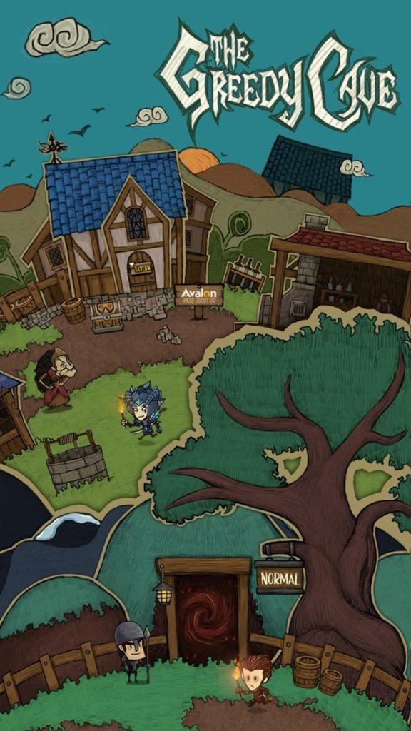 دانلود The Greedy Cave 2.2.5 - بازی نقش آفرینی