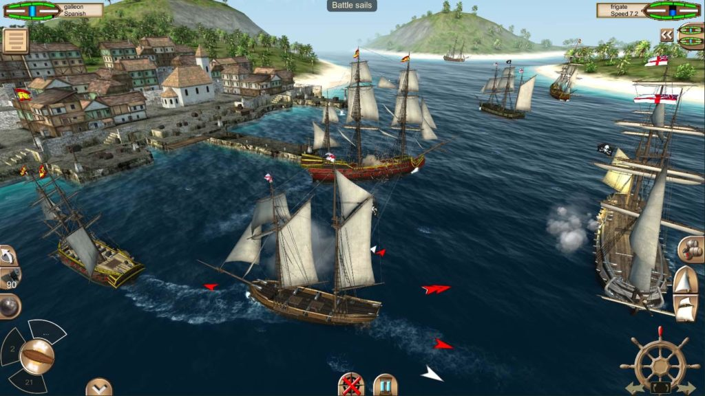 دانلود The Pirate: Caribbean Hunt 8.6.1 - بازی اکشن متفاوت