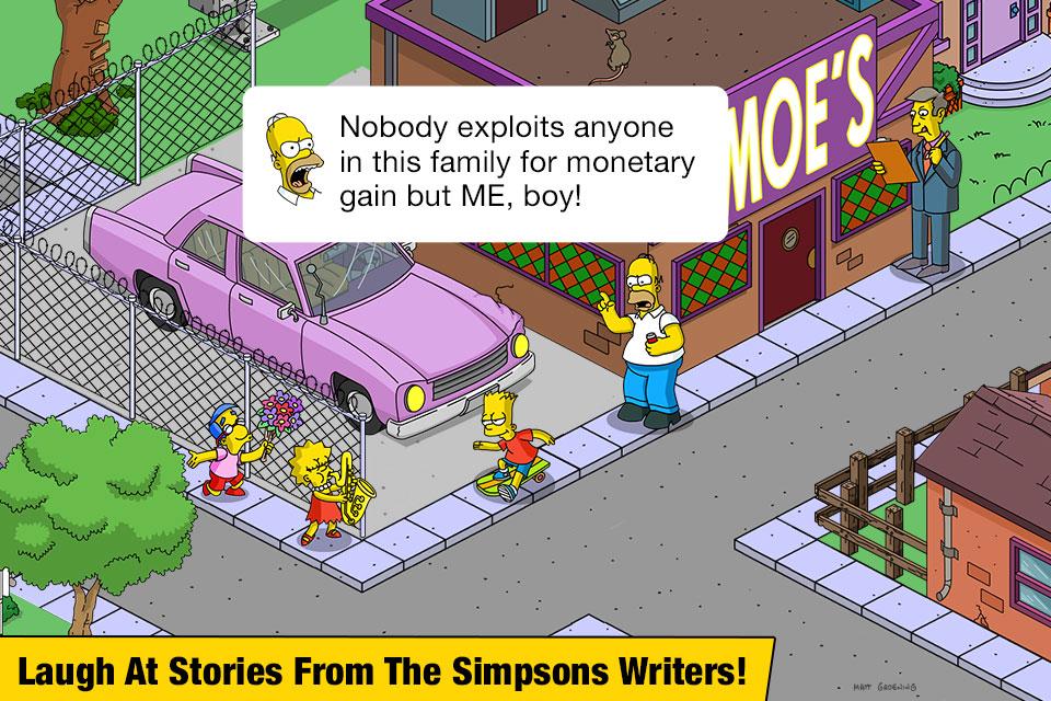 دانلود The Simpsons: Tapped Out 4.38.5 - بازی پرطرفدار و فوق العاده زیبا