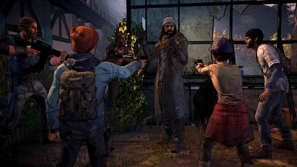 دانلود The Walking Dead: A New Frontier 1.04 - بازی مردگان متحرک 3 اندروید + دیتا