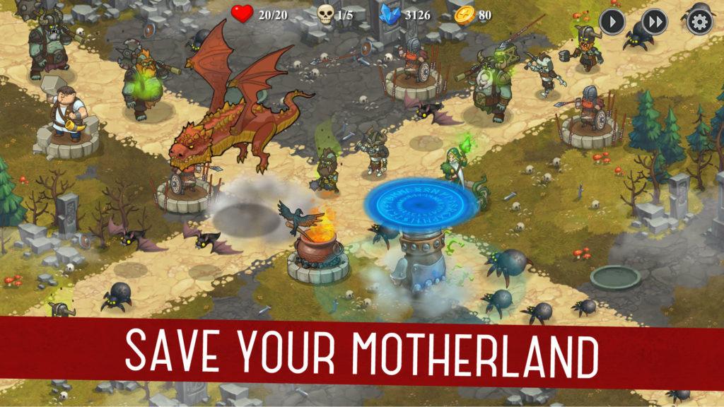 دانلود Throne Offline 1.0.36 - بازی استراتژی و برج دفاعی عالی