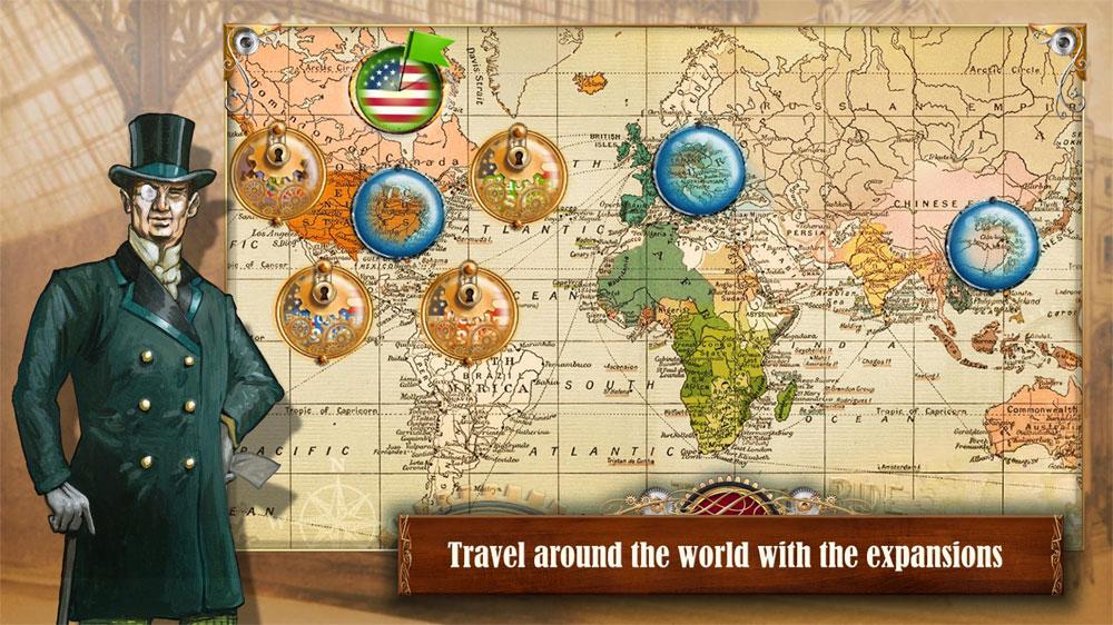 دانلود Ticket to Ride 2.6.10 - بازی آنلاین بلیط قطار اندروید + مود + دیتا