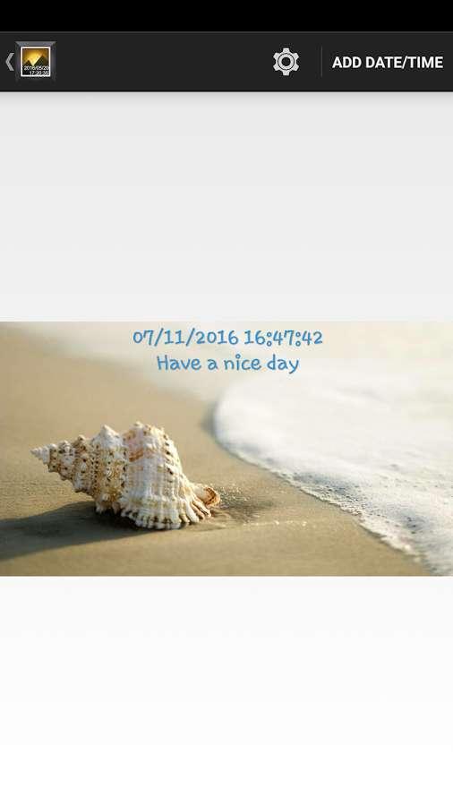 دانلود Timestamp Photo 1.5 - ثبت ساده و آسان تاریخ روی تصاویر اندروید