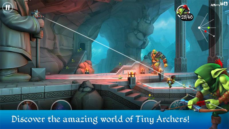 دانلود Tiny Archers 1.31.05.0 - بازی اکشن خاص
