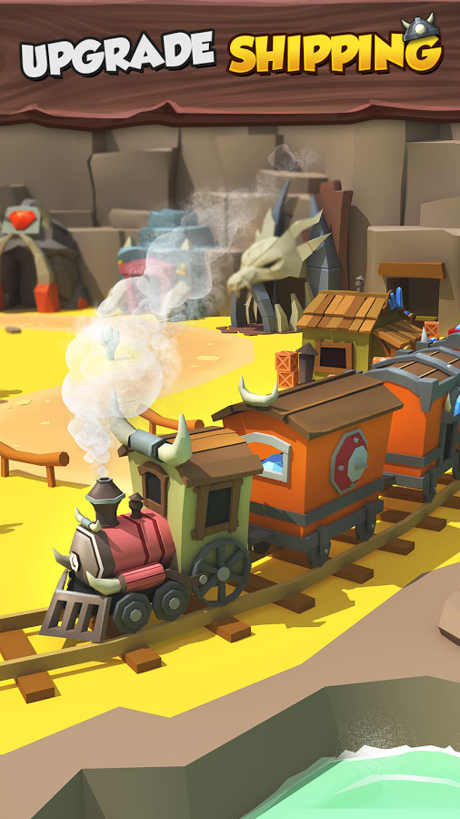 دانلود Tiny Miners - Idle Clicker 3.4.5 - بازی استراتژی محبوب