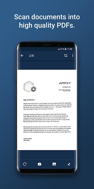 دانلود Tiny Scan Pro: PDF Scanner 4.2.3 - اپلیکیشن اسکنر قدرتمند اندروید