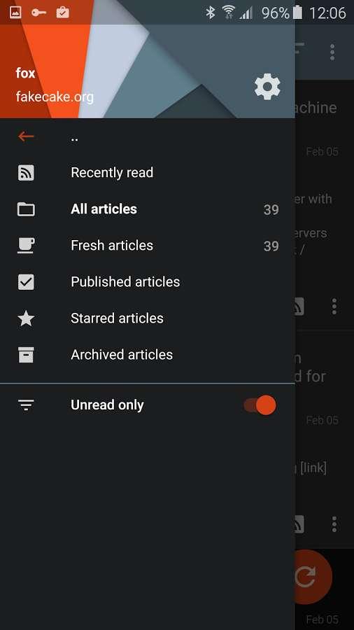 Tiny Tiny RSS Full