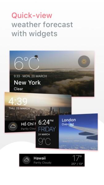 دانلود Today Weather - Forecast 1.4.3-7.151119 - برنامه پیش بینی دقیق آب و هوا اندروید