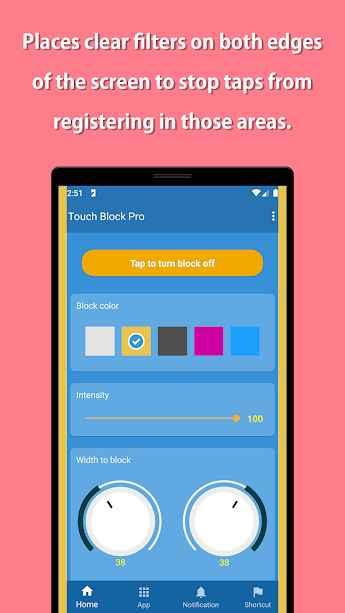 دانلود Touch Block Pro 1.2.5 - برنامه قفل لمس ناخواسته نمایشگر اندروید
