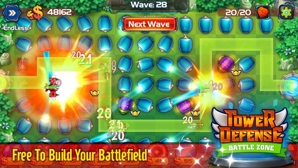 دانلود Tower Defense: Battle Zone 1.1.7 - بازی دفاع از پایگاه اندروید + مود