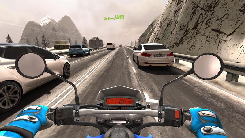 دانلود Traffic Rider 1.61 - بازی موتور سواری