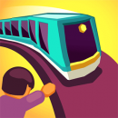 """دانلود Train Taxi 1.2.2 - بازی آرکید - پازل سرگرم کننده """"قطار شهری"""" اندروید + مود"""