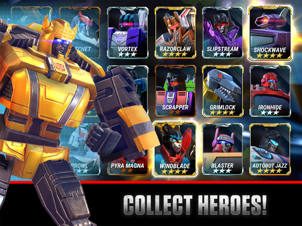 دانلود Transformers: Earth Wars 2.0.0.1048 - بازی استراتژی نبرد زمین اندروید + مود