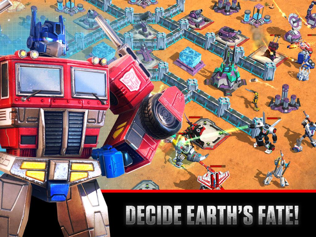 دانلود Transformers: Earth Wars 1.68.0.22067 - بازی استراتژی نبرد زمین اندروید + مود