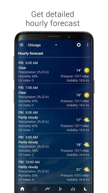 دانلود Transparent clock & weather Pro 3.30.09 - ساعت و آب و هوا اندروید