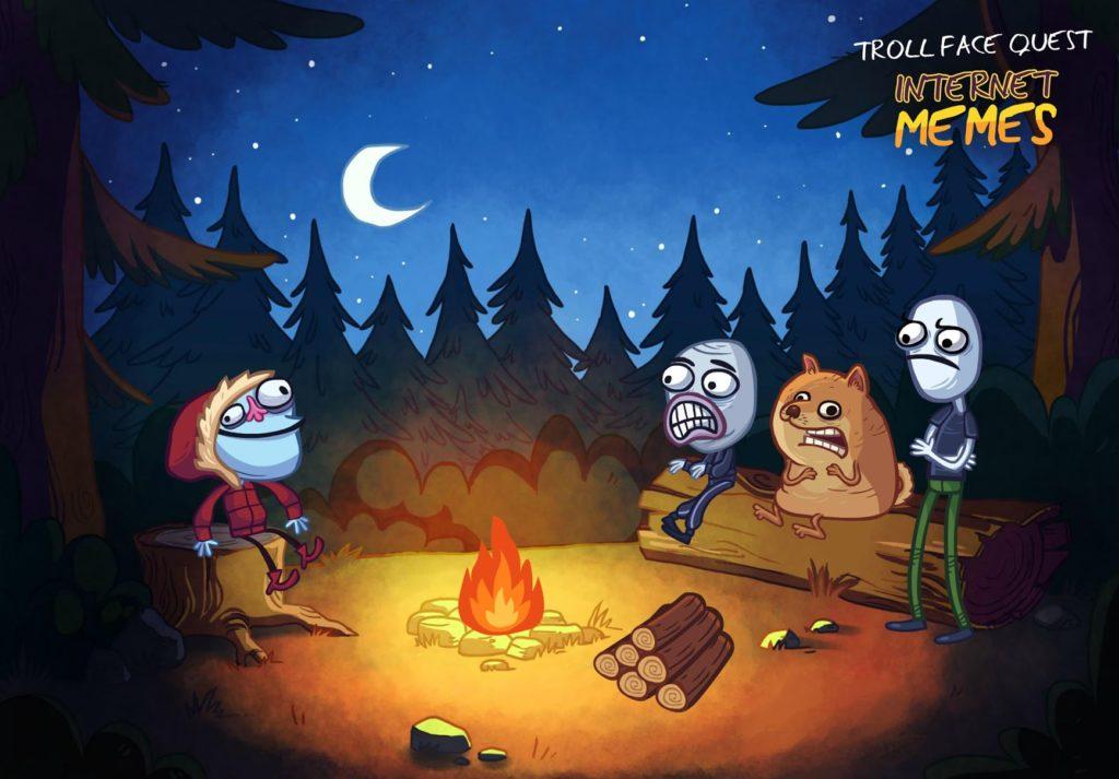 دانلود Troll Face Quest Internet Memes 1.5.1 - بازی پازل پرطرفدار