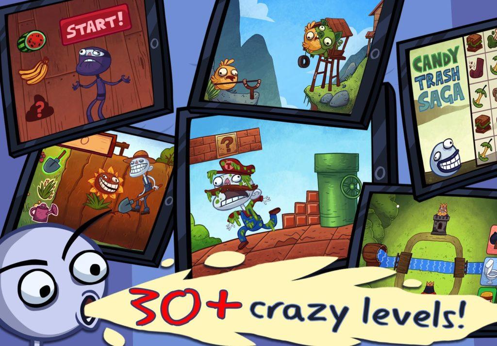 دانلود Troll Face Quest Video Games 1.10.0 - بازی پازل جالب و محبوب