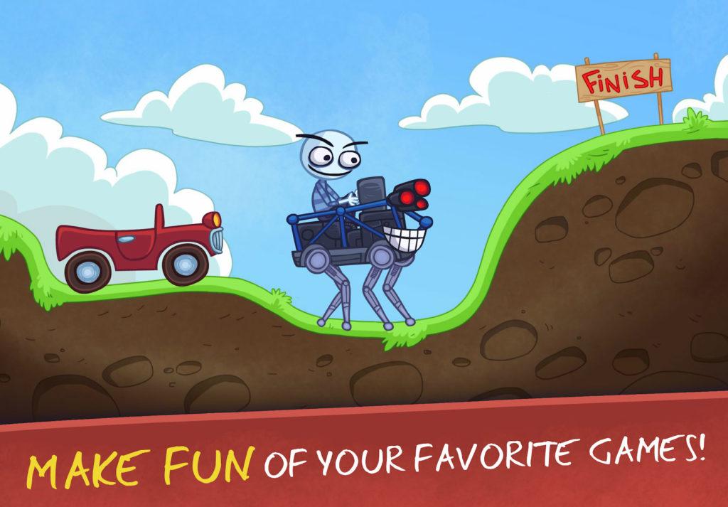 دانلود Troll Face Quest Video Games 2 1.5.1 - بازی پازل جالب و محبوب