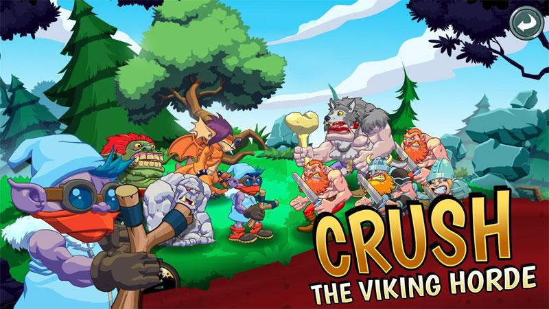 دانلود Trolls vs Vikings 2 1.5.1 - بازی ترول ها و وایکینگ ها 2 اندروید + مود