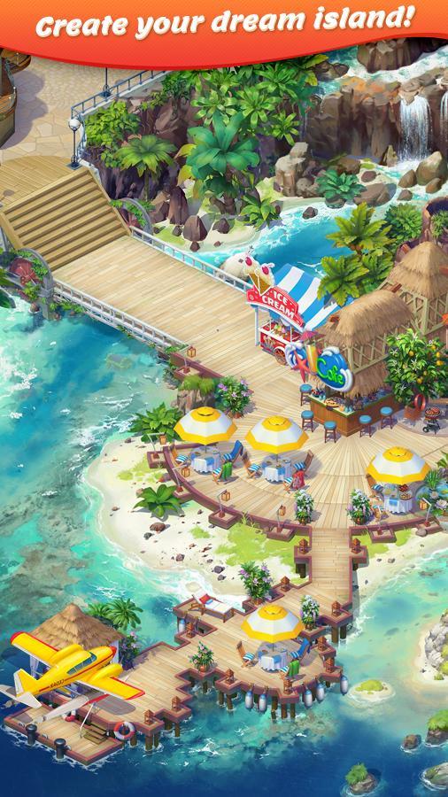 دانلود Tropical Forest: Match 3 Story 1.4.3 - بازی پازلی پرطرفدار