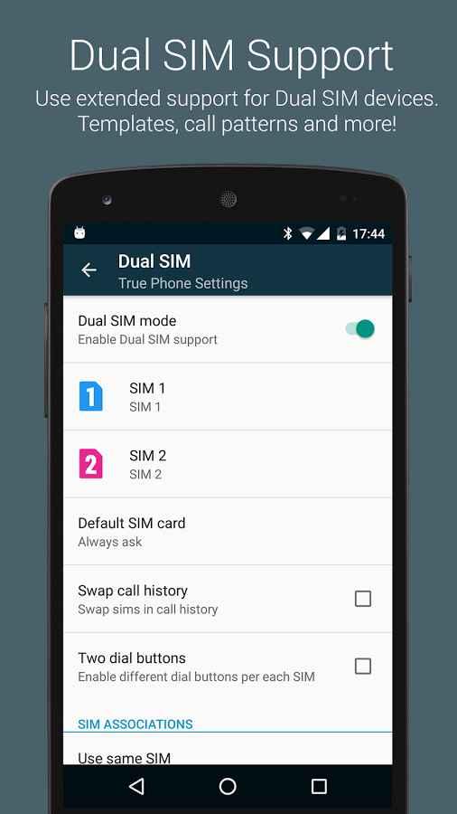 دانلود True Phone Dialer & Contacts Pro 1.7.8 - شماره گیر و مدیریت مخاطبین حرفه ای اندروید