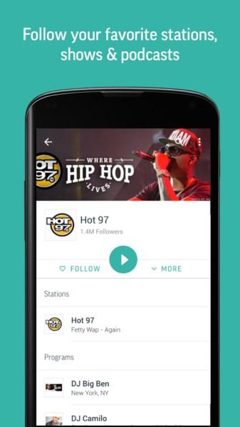 دانلود TuneIn Radio Pro - Live Radio 20.3 - ایستگاه ها رادیویی آنلاین اندروید + مود