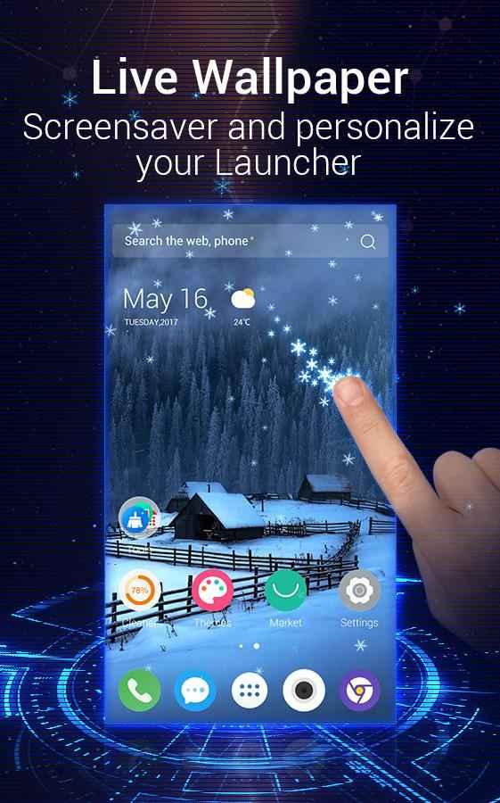 دانلود U Launcher 3D 2.3.7 - لانچر سه بعدی، زیبا و گرافیکی اندروید !
