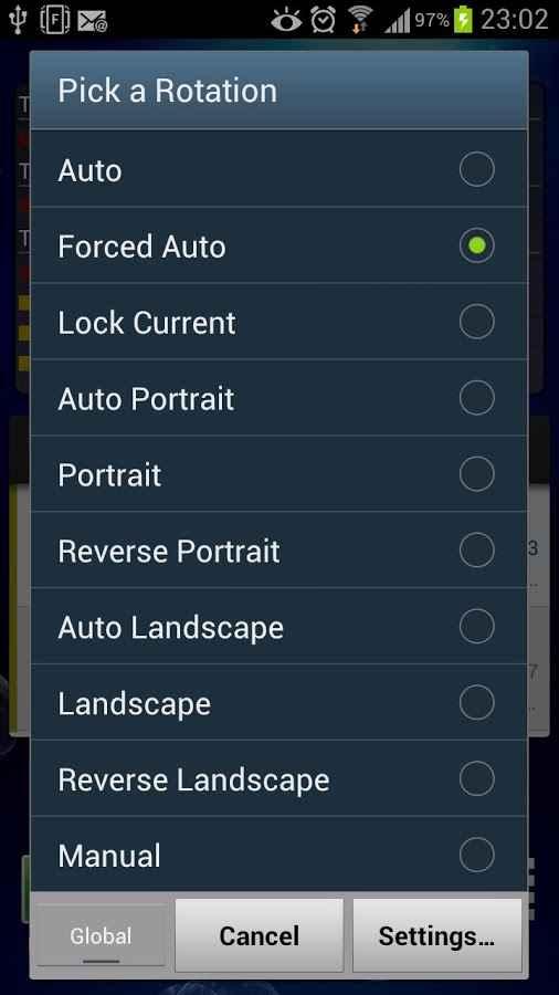 دانلود Ultimate Rotation Control Premium 6.3.5 - برنامه کنترل چرخش صفحه نمایش اندروید