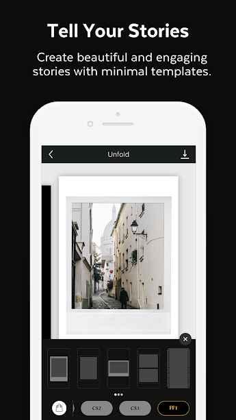 دانلود Unfold - Create Stories Premium 3.1.1 - برنامه ساخت داستان مخصوص اندروید!