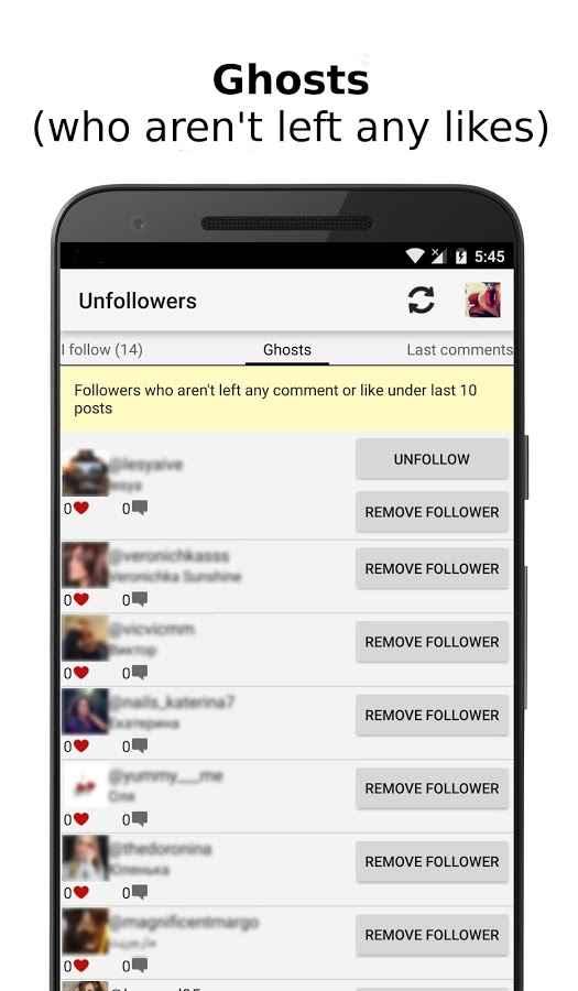دانلود Unfollowers Plus 1.4.0 - برنامه آنفالویاب اینستاگرام اندروید !