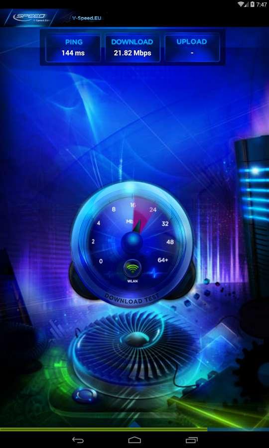 دانلود V-SPEED Speed Test Premium 3.9.9.0 - ابزار قدرتمند و پیشرفته تست سرعت اینترنت اندروید